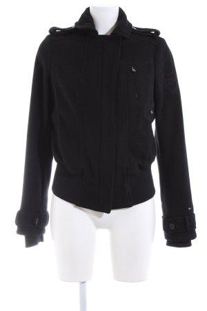 Hilfiger Denim Chaqueta de lana negro look casual