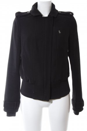 Hilfiger Denim Veste en laine noir style décontracté