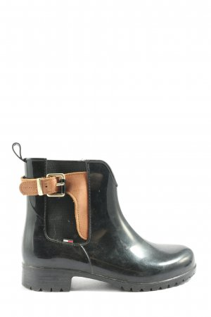 Hilfiger Chukka boot noir-brun style décontracté
