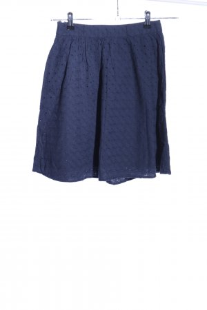 Hilfiger High Waist Rock blau Casual-Look