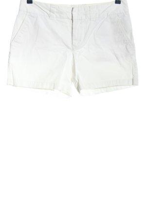 Hilfiger Szorty z wysokim stanem biały W stylu casual