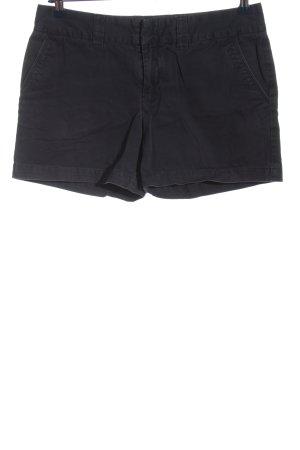 Hilfiger High-Waist-Shorts schwarz Casual-Look
