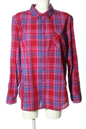 Hilfiger Houthakkershemd roze-blauw volledige print casual uitstraling
