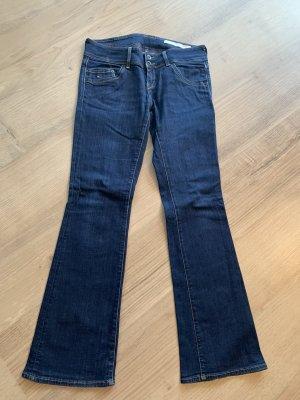 Hilfiger Denim Boot Cut Jeans dark blue