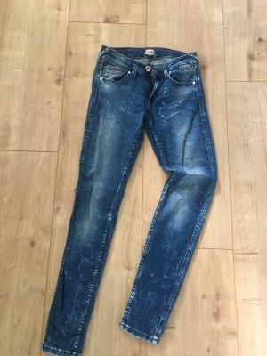Hilfiger Jeans a sigaretta blu