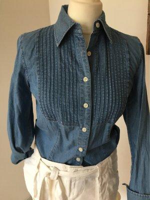 Tommy Hilfiger Blouse en jean bleuet