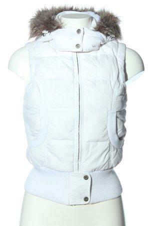 Hilfiger Smanicato con cappuccio bianco stile casual