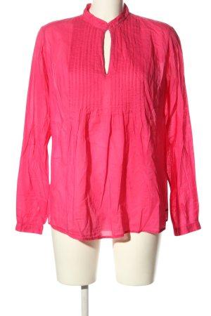 Hilfiger Langarm-Bluse pink Casual-Look