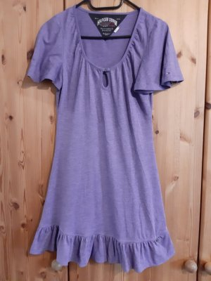 Hilfiger Denim Mini Dress purple-grey violet cotton