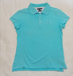 Tommy Hilfiger Koszulka polo turkusowy