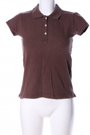 Hilfiger Polo-Shirt braun Casual-Look