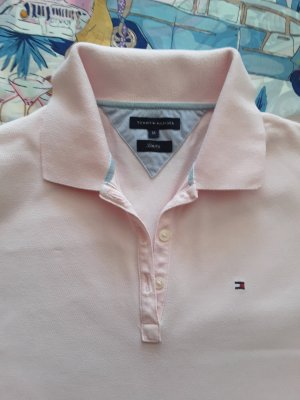 Hilfiger Collection Polo Shirt pink cotton