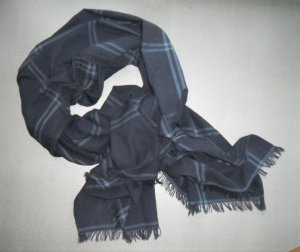 Hilfiger Schal, marineblau, Baumwolle