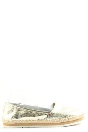 "Tommy Hilfiger Espadrille Sandals ""s1385py"" gold-colored"