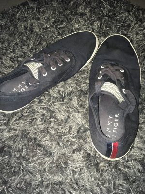 Tommy Hilfiger Chaussures à lacets bleu foncé