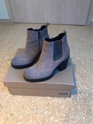 Tommy Hilfiger Denim Chelsea Boots black brown-camel