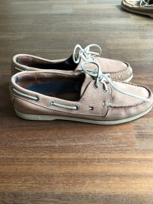 Tommy Hilfiger Chaussures bateau or rose