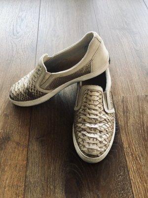 Hilfiger Sneaker in Gold