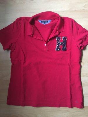 Hilfiger Tommy Poloshirt rot XL