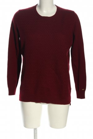 Hilfiger Wollpullover rot Casual-Look