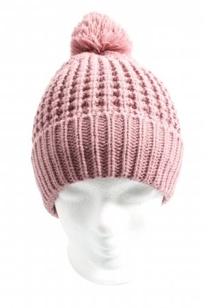 Hilltop Knitted Hat pink casual look