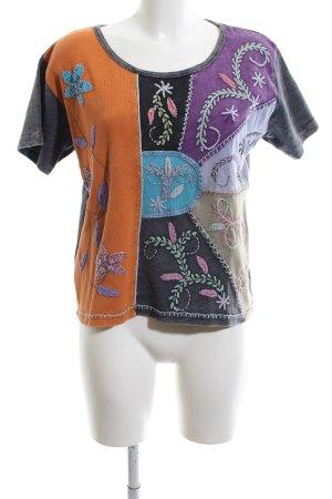 Himalaya T-Shirt mehrfarbig Casual-Look