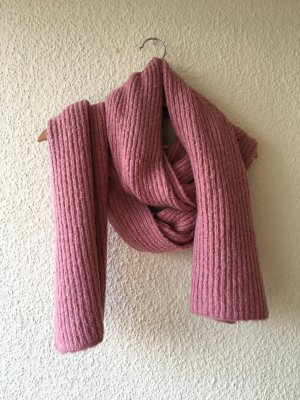 Knitted Scarf bright red