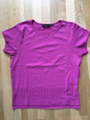 himbeerfarbenes Shirt