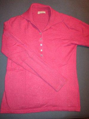 Unger Pullover in cashmere magenta Cachemire