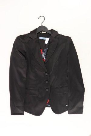 Himmelblau Blazer Größe 38 schwarz aus Polyester