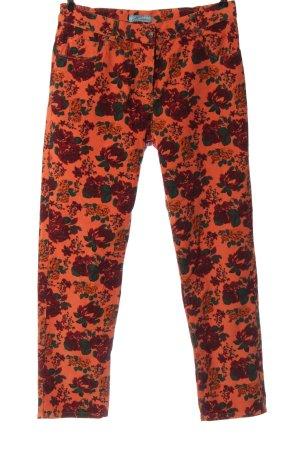 Himmelblau Pantalone cinque tasche stampa integrale stile casual