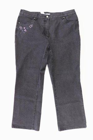 Himmelblau Hose Größe XL grau aus Baumwolle
