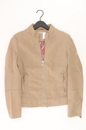 Himmelblau Jacke Größe 36 neuwertig braun aus Polyurethan