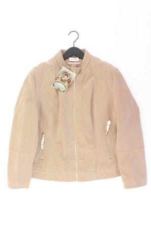Himmelblau Jacke Größe 44 neu mit Etikett braun aus Polyurethan