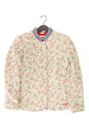 Himmelblau Jacke Größe L mit Blumenmuster grün aus Polyester