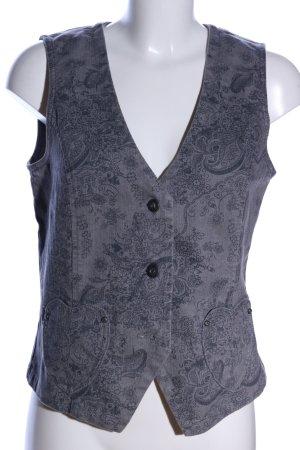 Himmelblau Smanicato jeans grigio chiaro motivo astratto stile casual