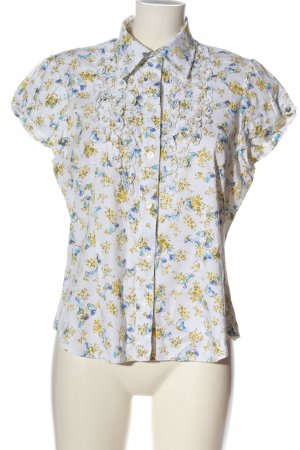 Himmelblau Short Sleeve Shirt allover print casual look