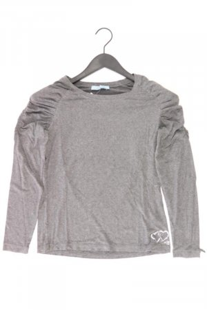 Himmelblau Pullover Größe 34 grau aus Viskose