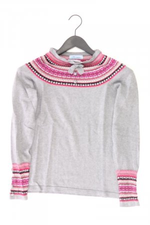 Himmelblau Pullover Größe 36 grau aus Viskose