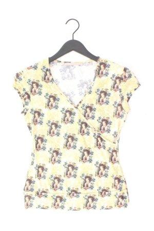 Himmelblau Shirt Größe 34 mehrfarbig aus Polyester