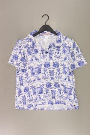 Himmelblau Shirt Größe 48 blau aus Viskose