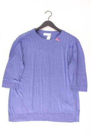 Himmelblau Shirt Größe 50 blau aus Viskose