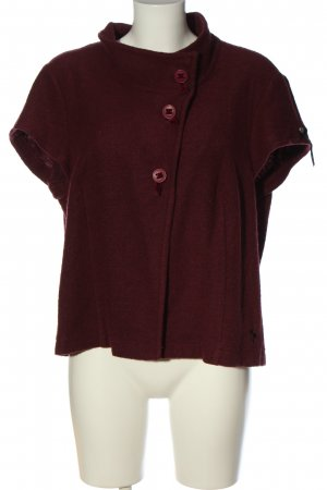 Himmelblau Short Sleeve Knitted Jacket red casual look