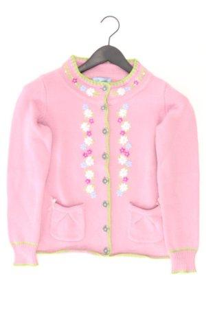 Himmelblau Weste Größe 36 blumen rosa aus Wolle