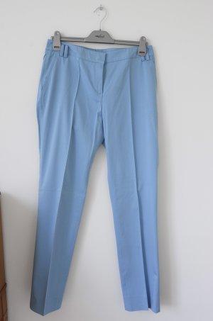 Himmelblaue Stoffhose
