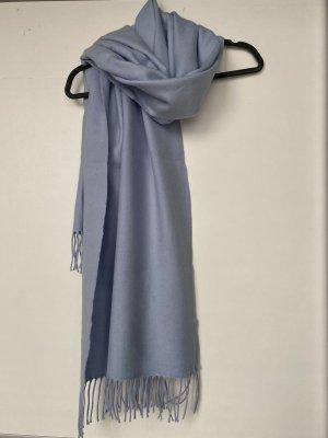 Mango Bufanda de lana azul celeste