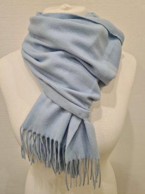 himmelblauer Schal