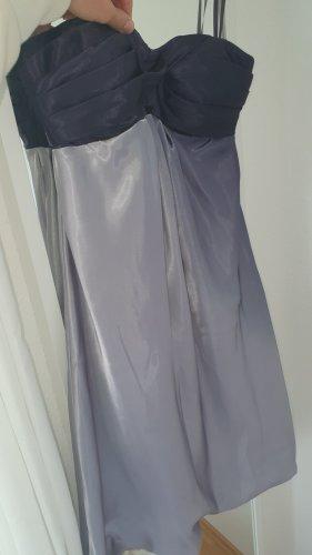 Laura Scott Bandeau Dress silver-colored