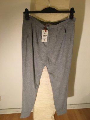 Bershka Baggy Pants grey polyester