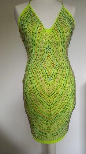 Hingucker Kleid mit buntem Strass